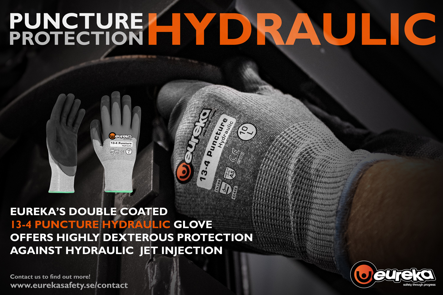 Hydraulic Jet Protection Glove